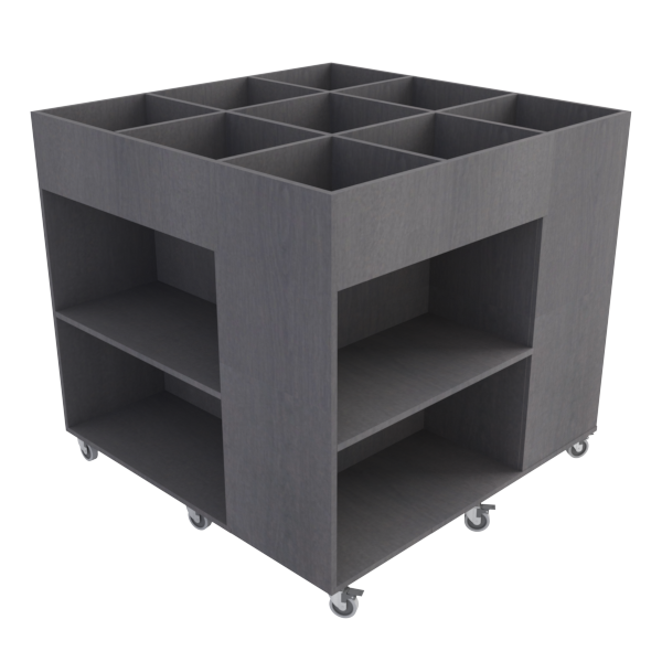 Rubix Book Browser Midi: Dark Oak