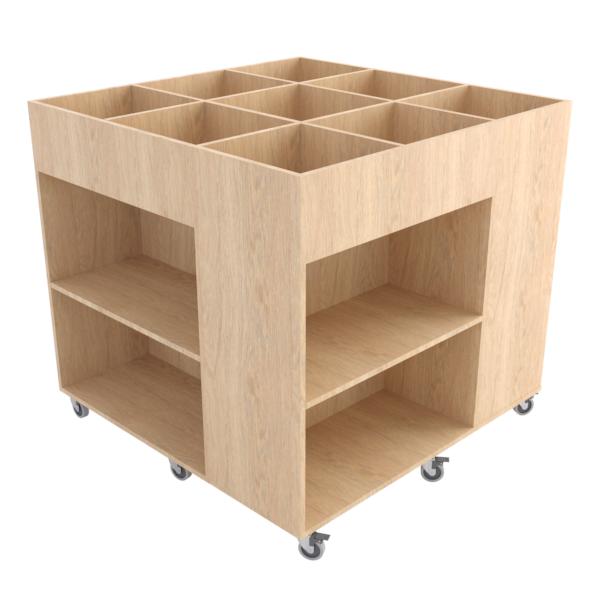 Rubix Book Browser Midi: Nat Oak