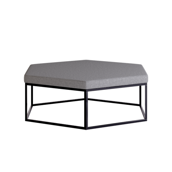 Elements Hex Modular Lounge: Slate