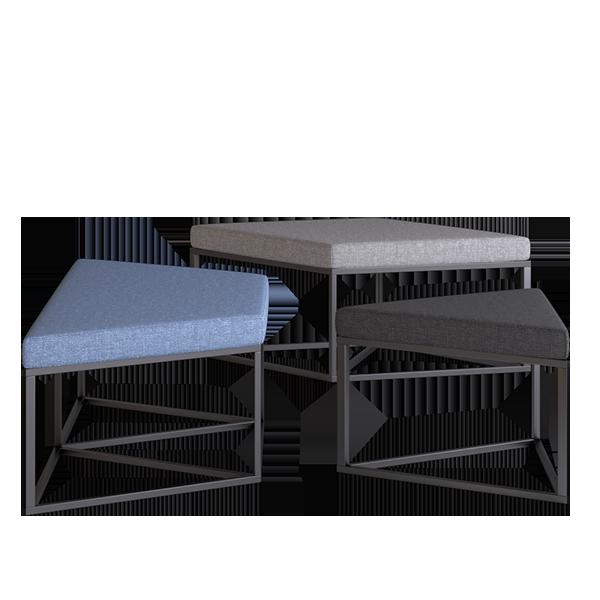 Elements Nimbus Modular Lounge: Separate