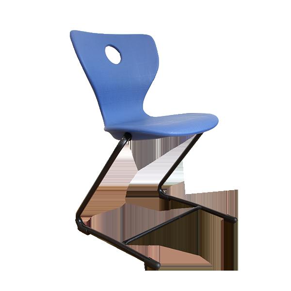 Flex Cantilever Chair: Blue