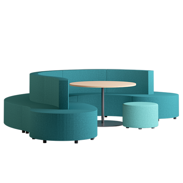 Habitat Cove Modular Lounge: Oasis