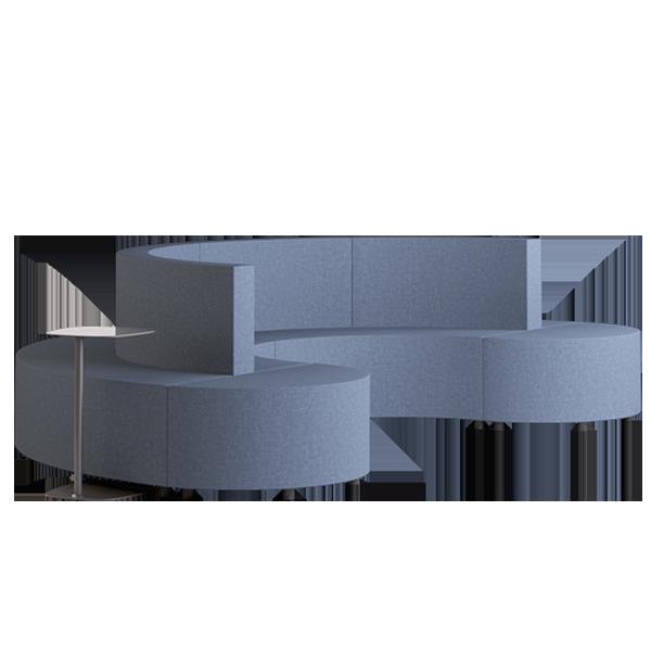 Habitat D3 Modular Lounge: Abyss