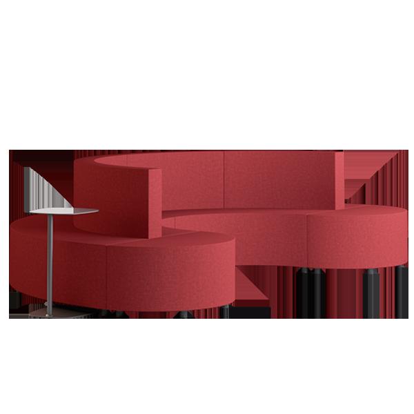Habitat D3 Modular Lounge: Persian