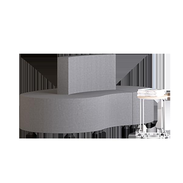 Habitat Field Modular Lounge: Slate