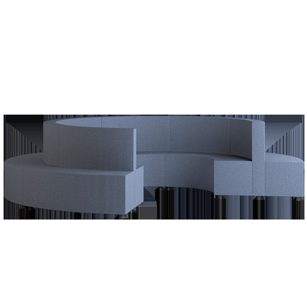 Habitat Ring Modular Lounge: Abyss