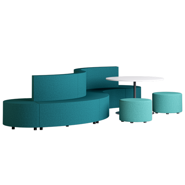 Habitat Stream Modular Lounge: Oasis