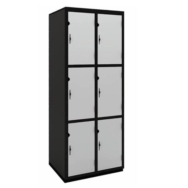 Secure it Double Bay Locker: Three Door