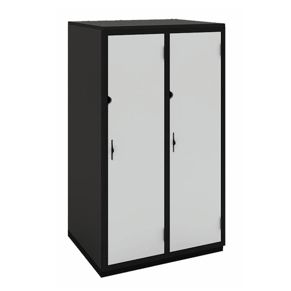 Secure it Three Qtr Height: Double Bay: One Door