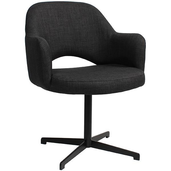 Aspen Lounge Chair: Cross Frame