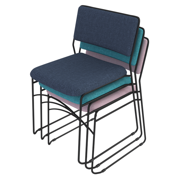 Campus Chair: Stacked