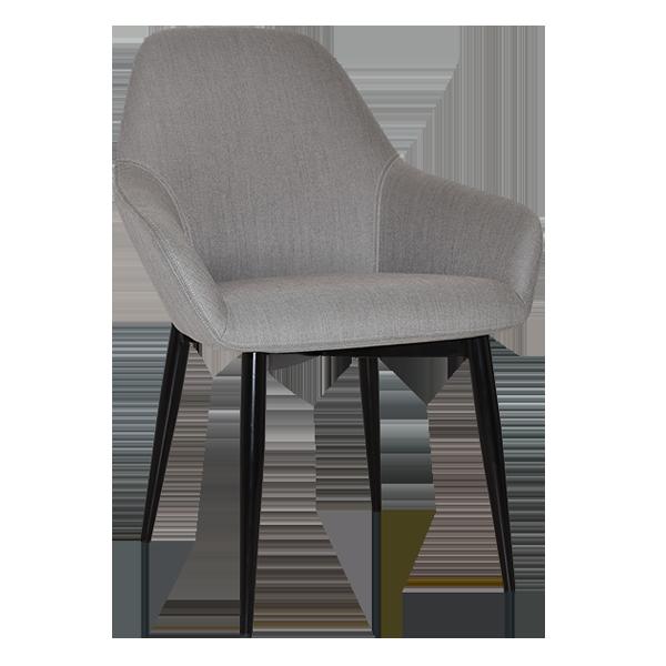 Cypress Lounge Chair: 4 leg steel