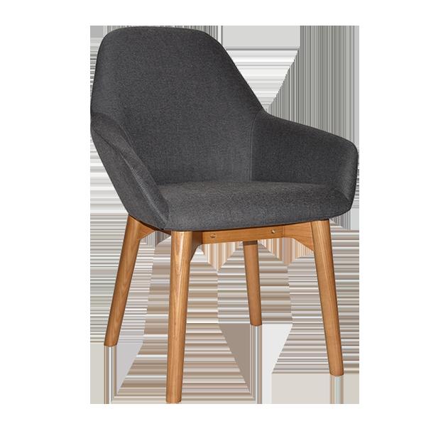 Cypress Lounge Chair: 4 leg timber