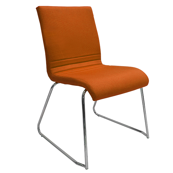 Manley Chair: Orange