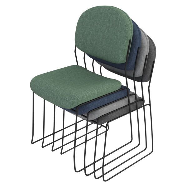 Rod Chair: Stacked
