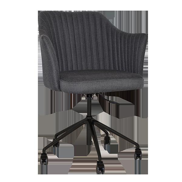 Sequoia Lounge Chair: Castors