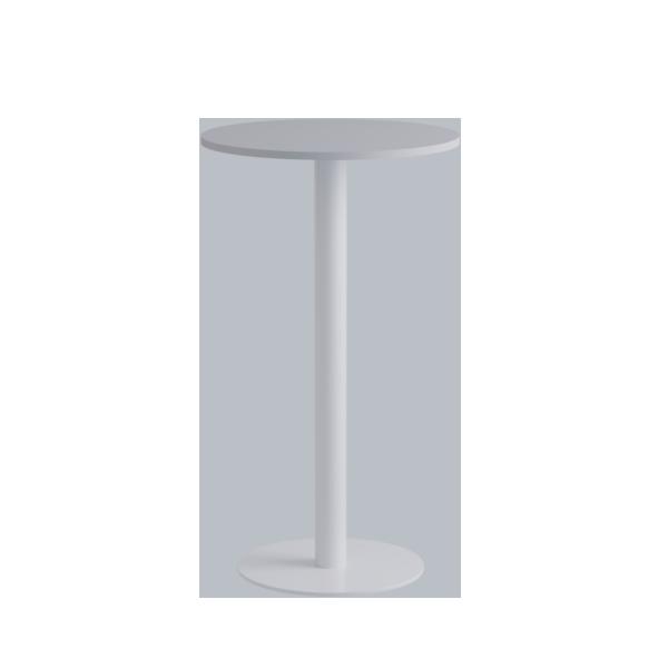 Porto High Table: White on White