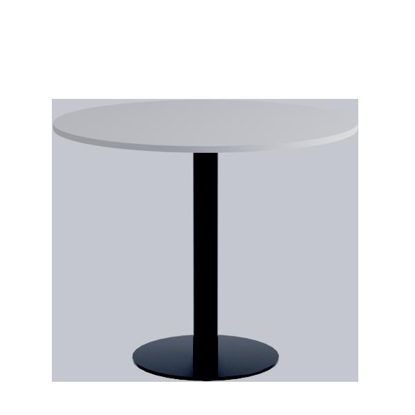 Porto Low Table: White on Black