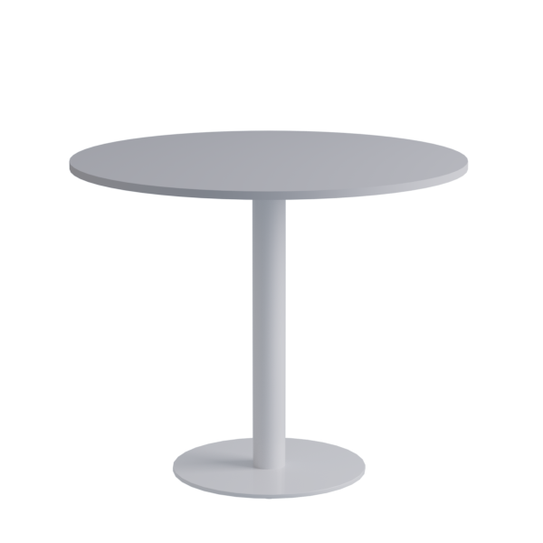 Porto Low Table: White on White