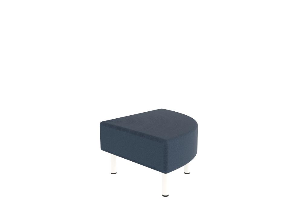 Origami Fan Ottoman by VE Furniture