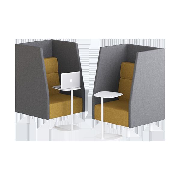 Origami Booth Modular Lounge: Single