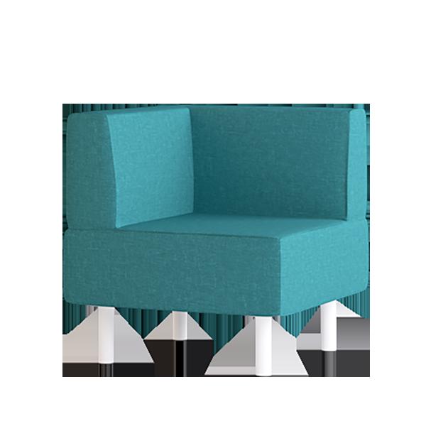 Origami Corner Modular Lounge: Oasis