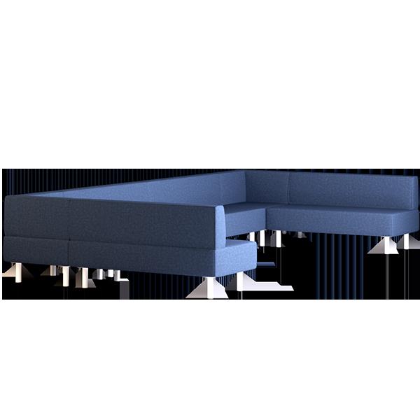 Origami Kami Modular Lounge: Abyss