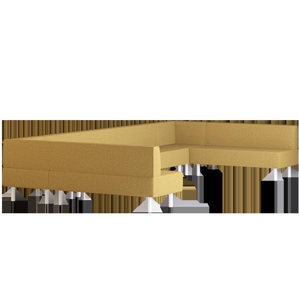 Origami Kami Modular Lounge: Wattle