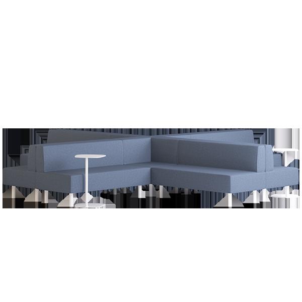 Origami Suru Modular Lounge: Abyss
