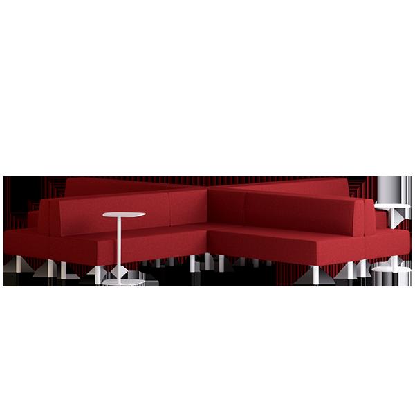 Origami Suru Modular Lounge: Persian