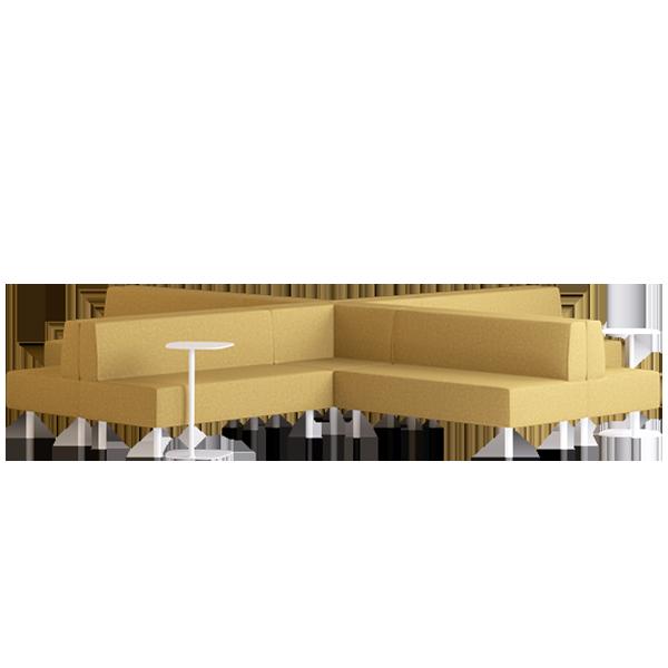 Origami Suru Modular Lounge: Wattle