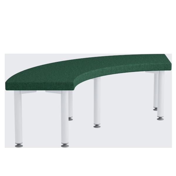 Alto Curve Ottoman: Amazon