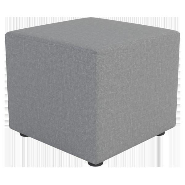 Cubee Ottoman: Slate