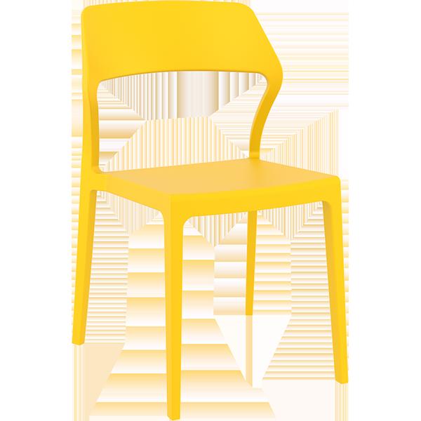 Snow Chair: Yellow