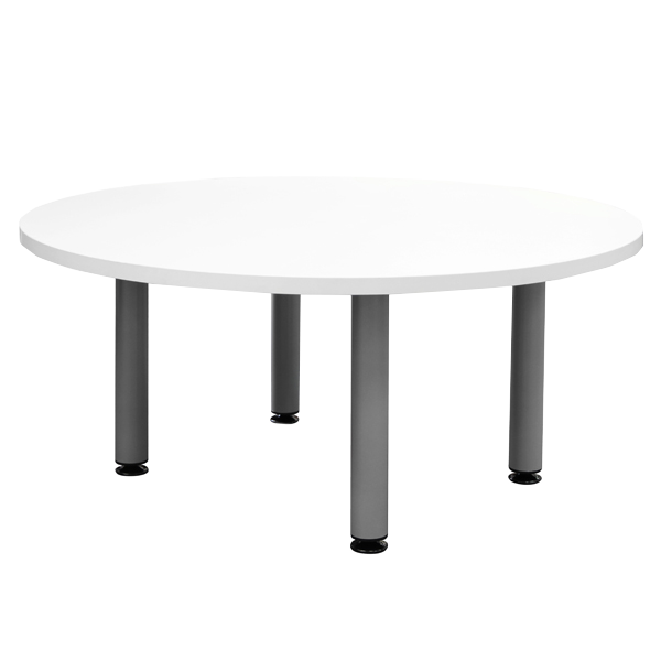 Podz Occasional Table: Silver Frame