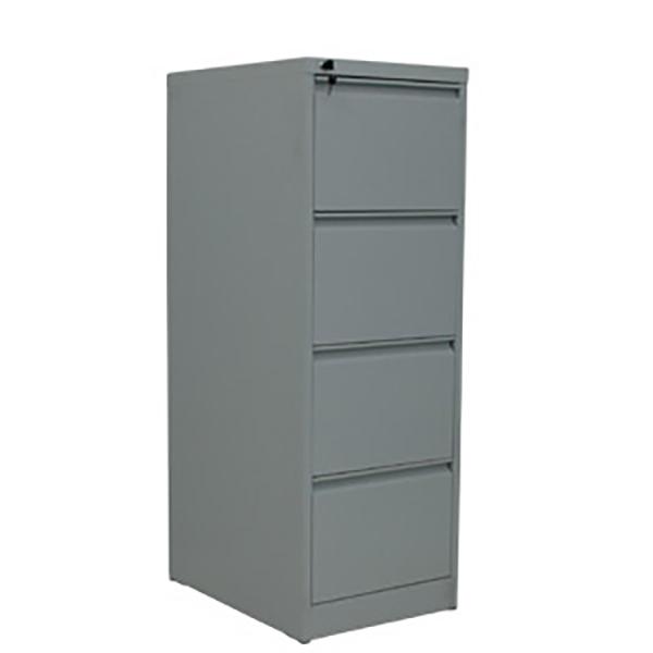 Ergo Steel Filing Cabinet: 4 drawer