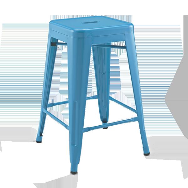 Lyon Stool: Blue