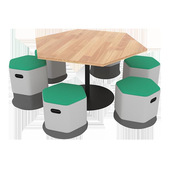iDisc Hex Table
